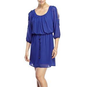 Elegant cold shoulder dress